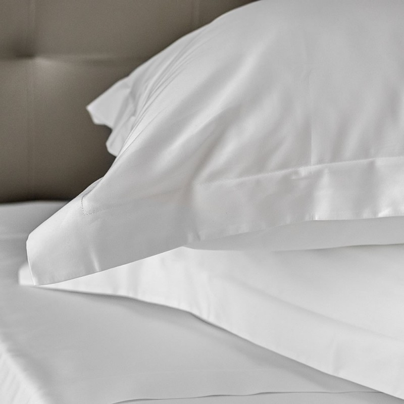 Pillowcase Oxford Egyptian Cotton 500 Thread Count Provence