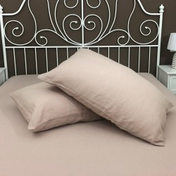 Pillowcase Classic Linen Atlanta Rosé