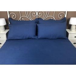Pillowcase Classic Linen Atlanta Blue