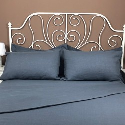 Pillowcase Classic Linen Atlanta Charcoal