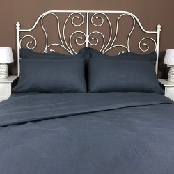 Pillowcase Classic Linen Atlanta Charcoal