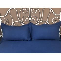 Pillowcase Oxford Linen Atlanta Blue