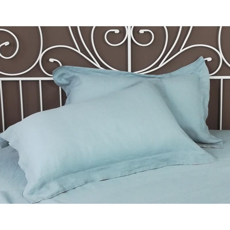 Pillowcase Oxford Linen Atlanta Slate
