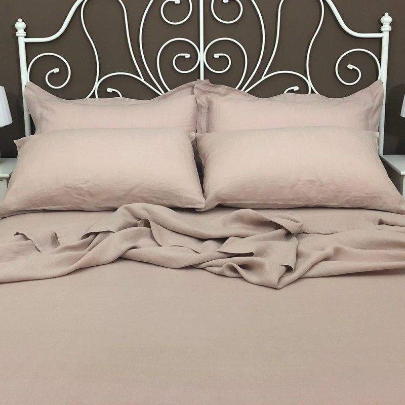 Flat Sheet Linen Atlanta Rosé