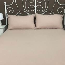 Fitted Sheet Linen Atlanta Rosé
