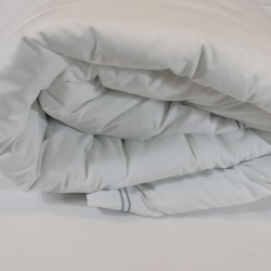 Rolled up Duvet Cover Egyptian Cotton 200 Thread Count Percale Porto