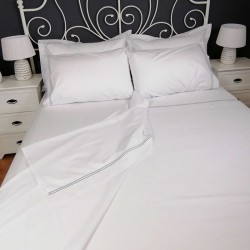 Percale Duvet Cover Egyptian Cotton 200 Thread Count Porto casually folded back