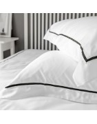 Oxford and Classic pillowcases, Egyptian cotton, linen